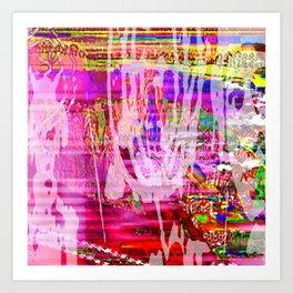 More Or Less Art Print