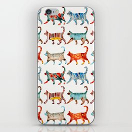 Cat Collection: Watercolor iPhone Skin