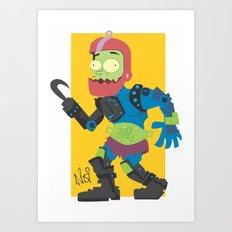 Jaw!! Art Print