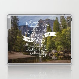 Psalm 91 with Background Laptop & iPad Skin