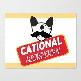 Catty Bo Canvas Print