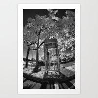 cabin Art Prints featuring Cabin by Jean-François Dupuis