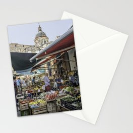 Going to the Market Stationery Cards
