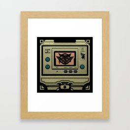 Beezelbubba Game and Watch  Framed Art Print