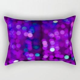 Purple Disco Rectangular Pillow