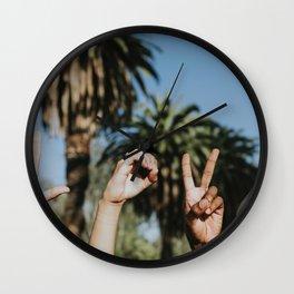 Love Hands Wall Clock