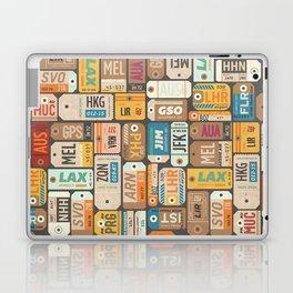 Luggage Tags Retro Laptop & iPad Skin