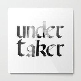 undertaker Metal Print
