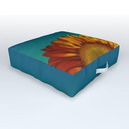 A Sunflower Outdoor Floor Cushion