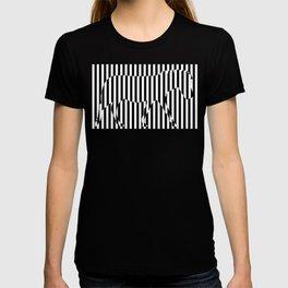 Zebra Stripes Stencil Hidden T-shirt
