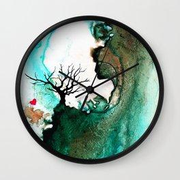 Love Has No Fear - Art By Sharon Cummings Wall Clock