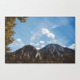 Mountains in the background XXIV Canvas Print
