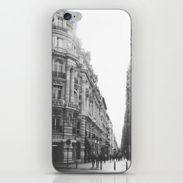 Champs Elysées in Paris: a street view iPhone Skin