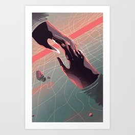 This Is My Weakness Art Print