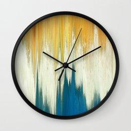 Pixel Sorting 63 Wall Clock