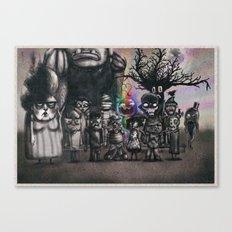Ms. Nebun's Academic Spook Class Photo Canvas Print