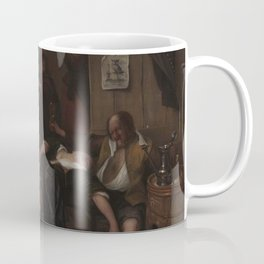 Jan Havicksz Steen - The Drunken Couple Coffee Mug