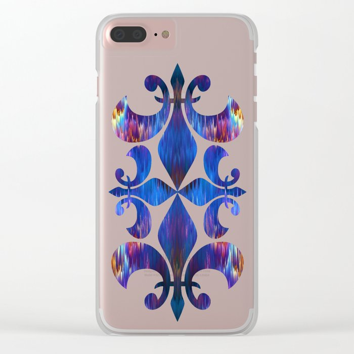 Staggering Spectrum Clear iPhone Case