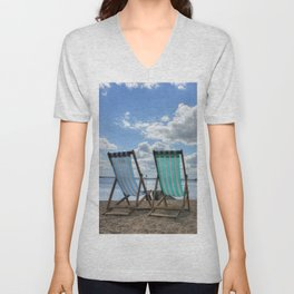 Deck Chairs HDR Unisex V-Neck