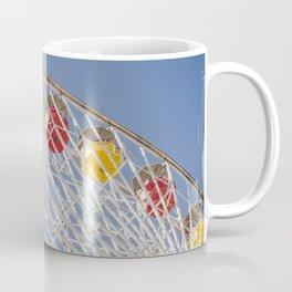 California Wheelin - Santa Monica Pier Coffee Mug