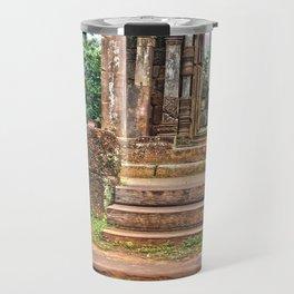 Temple Ruin Doorways Travel Mug