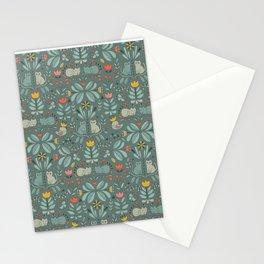Swedish Folk Cats Stationery Cards