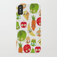 food iPhone & iPod Cases featuring Food by Peerro