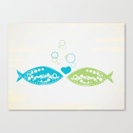 You Hooked Me Canvas Print