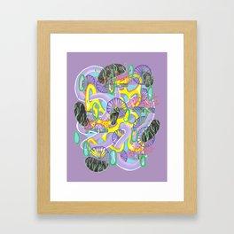 Alien Organism 5 Framed Art Print