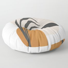 Abstract Shapes 3 Floor Pillow