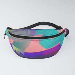 Lady in Paint Fanny Pack