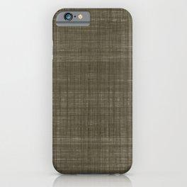Tissu d'écorce Charcoal iPhone Case