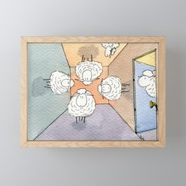 Orientation Day Framed Mini Art Print