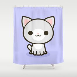 Kawaii Kitty 1 Shower Curtain