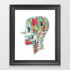 Illustrator to the Bone Framed Art Print