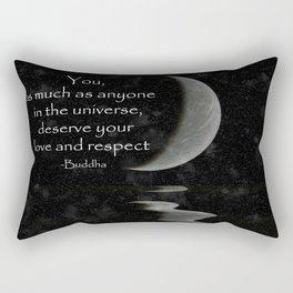 You, as much as anyone... Rectangular Pillow