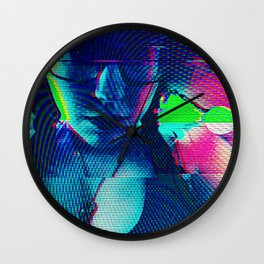 Cybernetic Celluloid Wall Clock