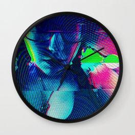 Cybernetic Celluloid Wall Clock