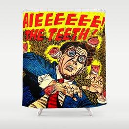 The Teeth! Shower Curtain