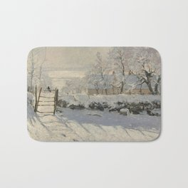 Claude Monet  -  The Magpie Bath Mat