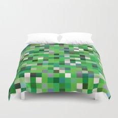 Pixel Painting Duvet Cover