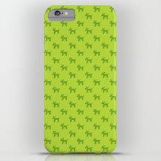 Dogs-Green Slim Case iPhone 6 Plus