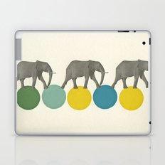 Travelling Elephants Laptop & iPad Skin