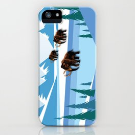 An Ice Age History iPhone Case