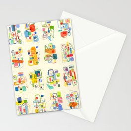 Four by Four Number Two Stationery Cards