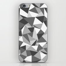 Abstraction Black and White iPhone & iPod Skin