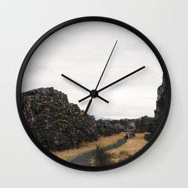 Þingvellir Wall Clock