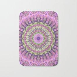 Vibrant Fractal Kaleidoscope 2 Bath Mat