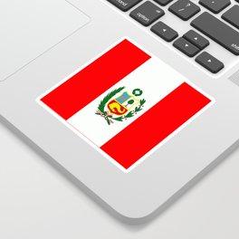 Flag of Peru Sticker