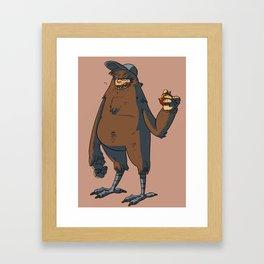 chicken legs Framed Art Print